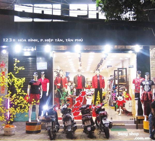 Sang Shop thời trang Nam + quán nước
