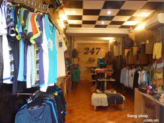 Sang shop thời trang Nam