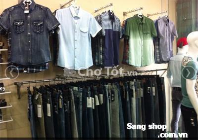 Sang Shop thời trang nam Bình Dương