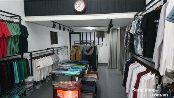 Sang shop thời trang Nam cao cấp mới deco giá tốt