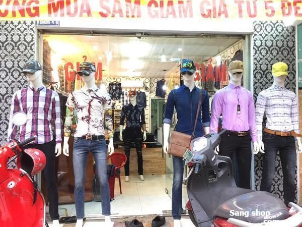 Sang shop thời trang Nam doanh thu 90tr/1th