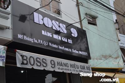Sang shop thời trang nam đường Hoàng Sa quận 3