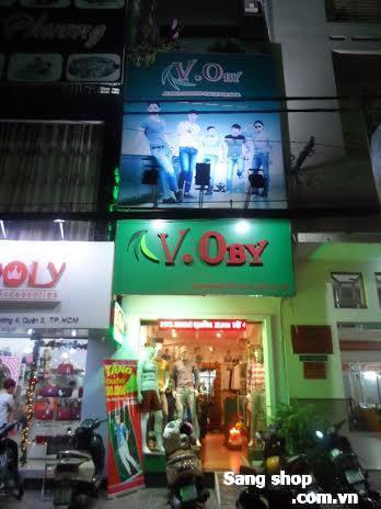 Sang shop thời trang nam đường Nguyễn Đình Chiểu