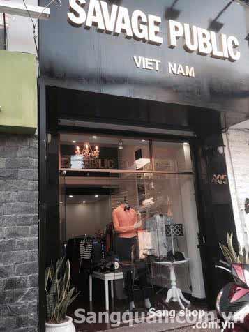 Sang shop thời trang nam hàng xách tay