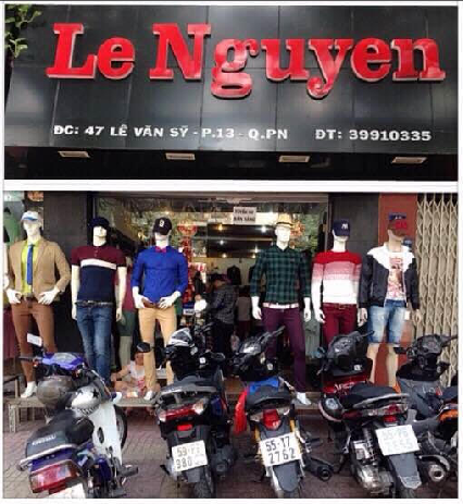 Sang Shop thời trang nam Le Nguyen