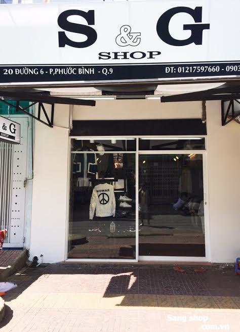 Sang shop thời trang nam Quận 9