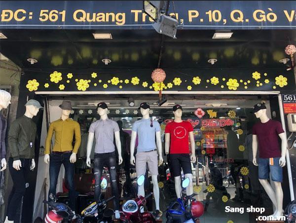 Sang gấp shop thời trang mặt tiền Quang Trung, KD lâu năm