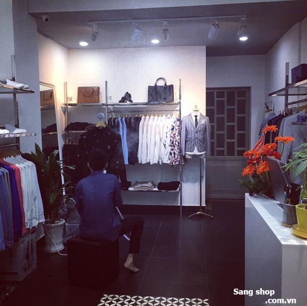 Sang shop thời trang nam vị trí đẹp đường CMT 8