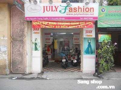 Sang shop thời trang, Nguyễn Trọng Tuyển, Quận Phú Nhuận