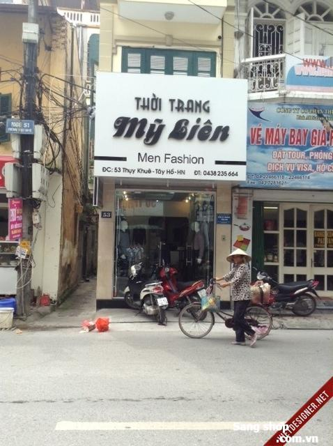 Sang shop thời trang nữ , Q.Tây Hồ, Hà Nội