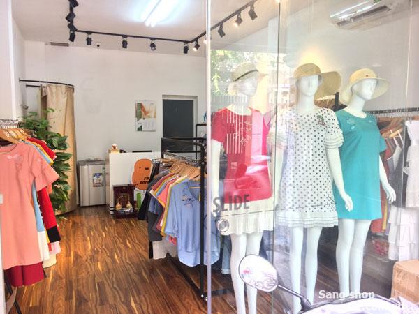 Sang shop thời trang nữ cao cấp đường Lê Văn Sỹ