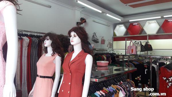 Sang shop thời trang nữ cao cấp mặt tiền