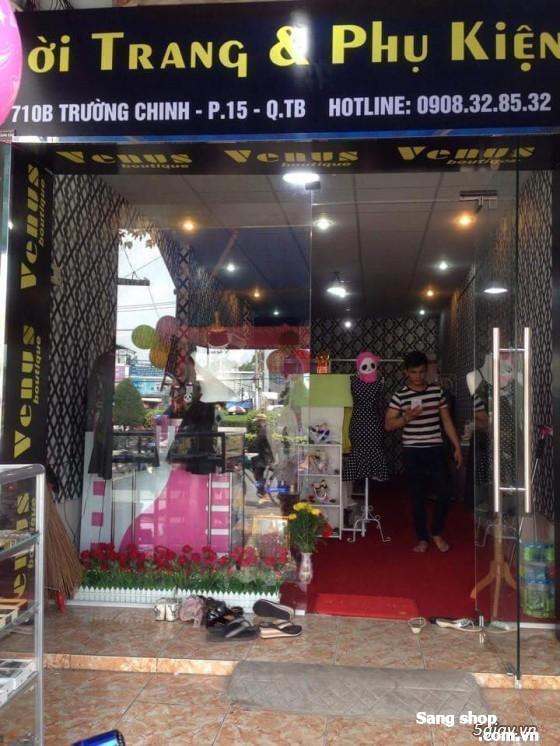 Sang shop thời trang nữ đa dạng mặt hàng