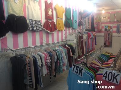 Sang shop thời trang nữ đối diện chợ Phạm Thế Hiển,