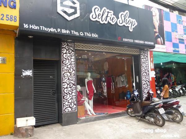 Sang shop Thời trang nữ đường Hàn Thuyên