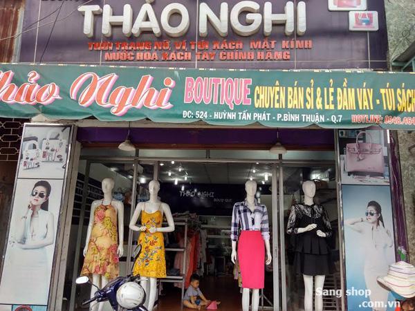 Sang Shop thời trang nữ đường huỷnh tấn phát