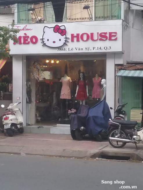 Sang Shop thời trang nữ đường Lê Văn Sỹ