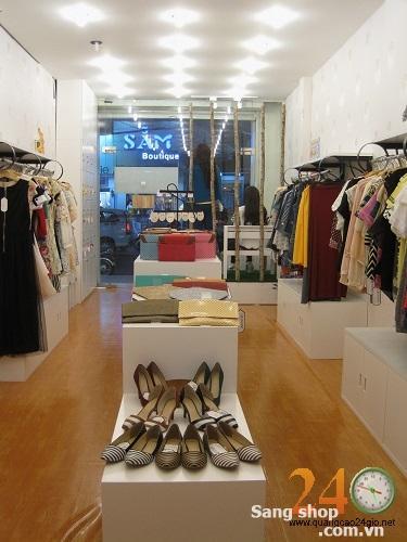 Sang shop thời trang Nữ Đường Lê Văn Sỹ Quận Phú Nhuận