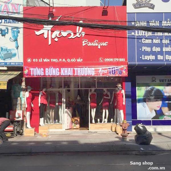 Sang shop Thời trang nữ đường Lê Văn Thọ