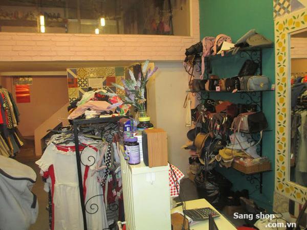 Sang shop thời trang nữ đường Nguyễn Đình Chiểu