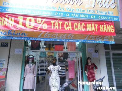 Sang shop thời trang nữ đường Nguyễn Thái Bình