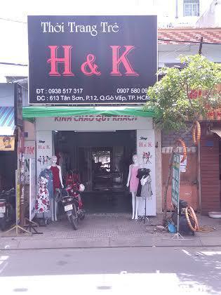 Sang GẤP shop thời trang nữ đường Tân Sơn