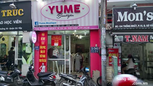 Sang Shop thời trang Nữ đường Thống Nhất