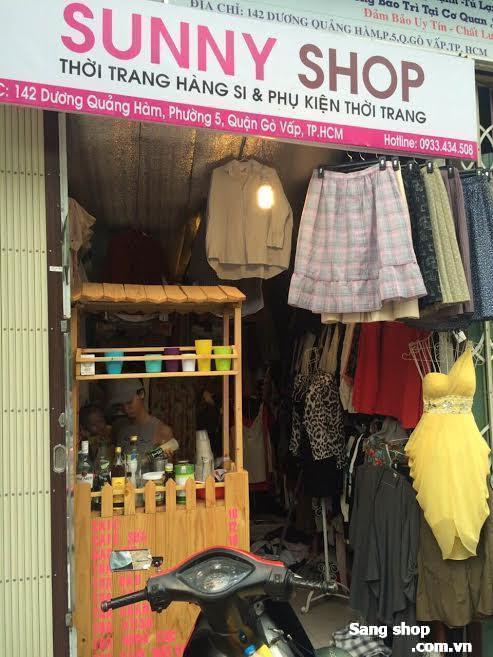 Sang shop thời trang nữ hàng si Nhật