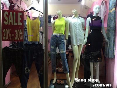 Sang shop thời trang nữ hàng Thái Lan quận Phú Nhuận