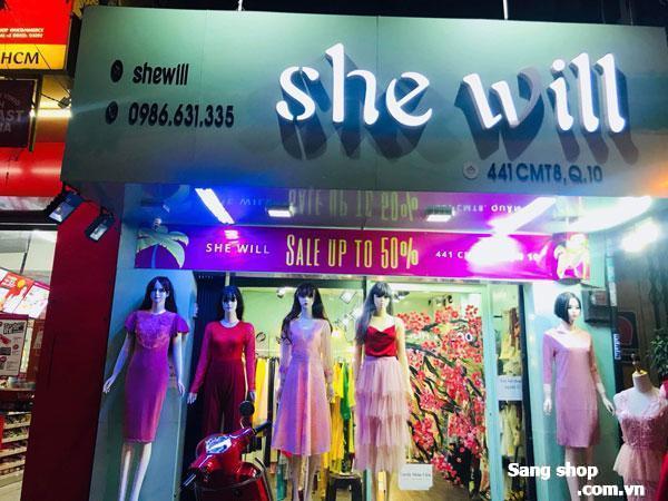 sang shop thời trang nữ mặt tiền quận 10