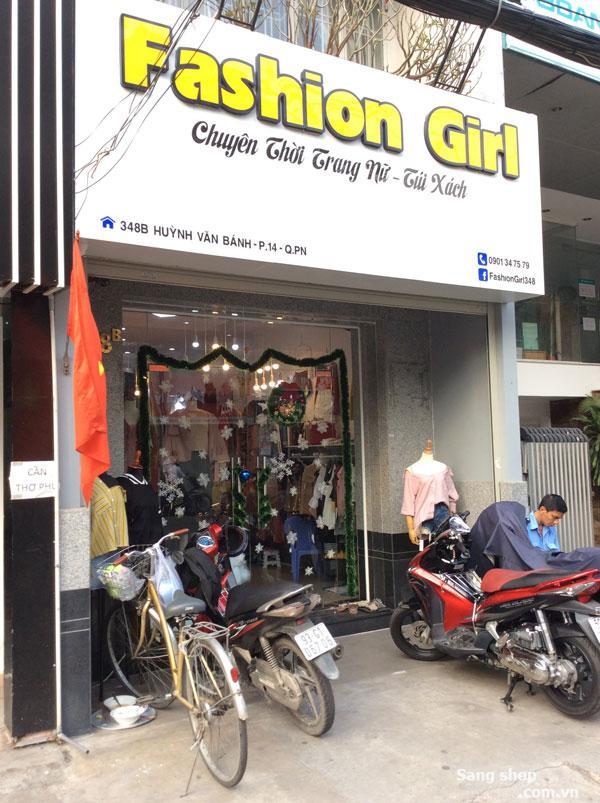 Sang Shop Thời Trang Nữ mặt tiền đường Huỳnh Văn Bánh