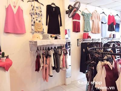 Sang shop thời trang nữ mặt tiền đường Thống Nhất