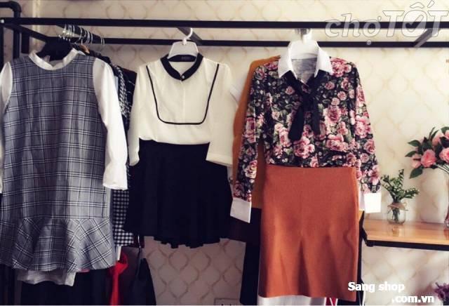 Sang shop thời trang nữ mặt tiền 154 Hồng Lạc
