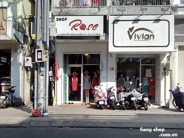 Sang Shop thời trang Nữ mặt tiền Nguyễn Đình Chiểu