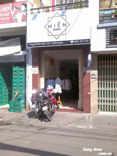 Sang shop thời trang nữ mặt tiền Nguyễn Đình Chính