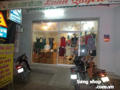 Sang shop thời trang Quận 12.