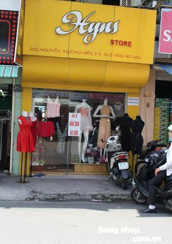 Sang shop thời trang nữ Quân 3 .