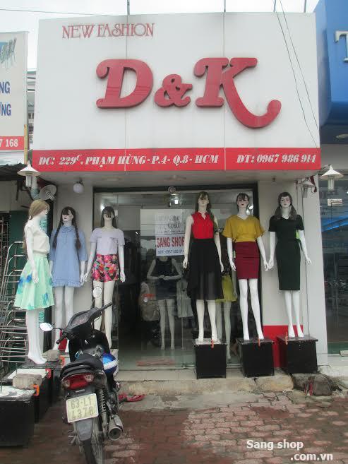 Sang shop thời trang Nữ quận 8