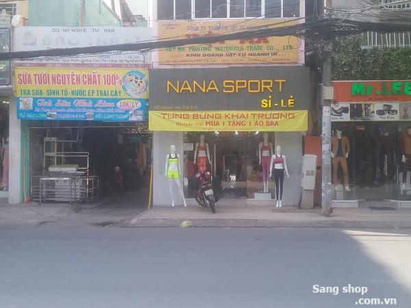Sang shop thời trang Nữ Sport đường Nguyễn Trãi