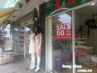 Sang gấp mặt bằng shop đường Hoàng Sa quận 3