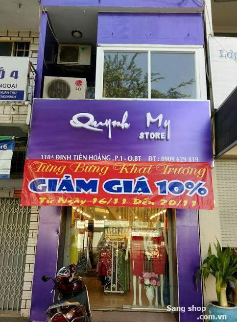 Sang shop thời trang quận Bình Thạnh