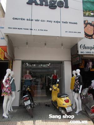 Sang shop thời trang quận Tân Bình