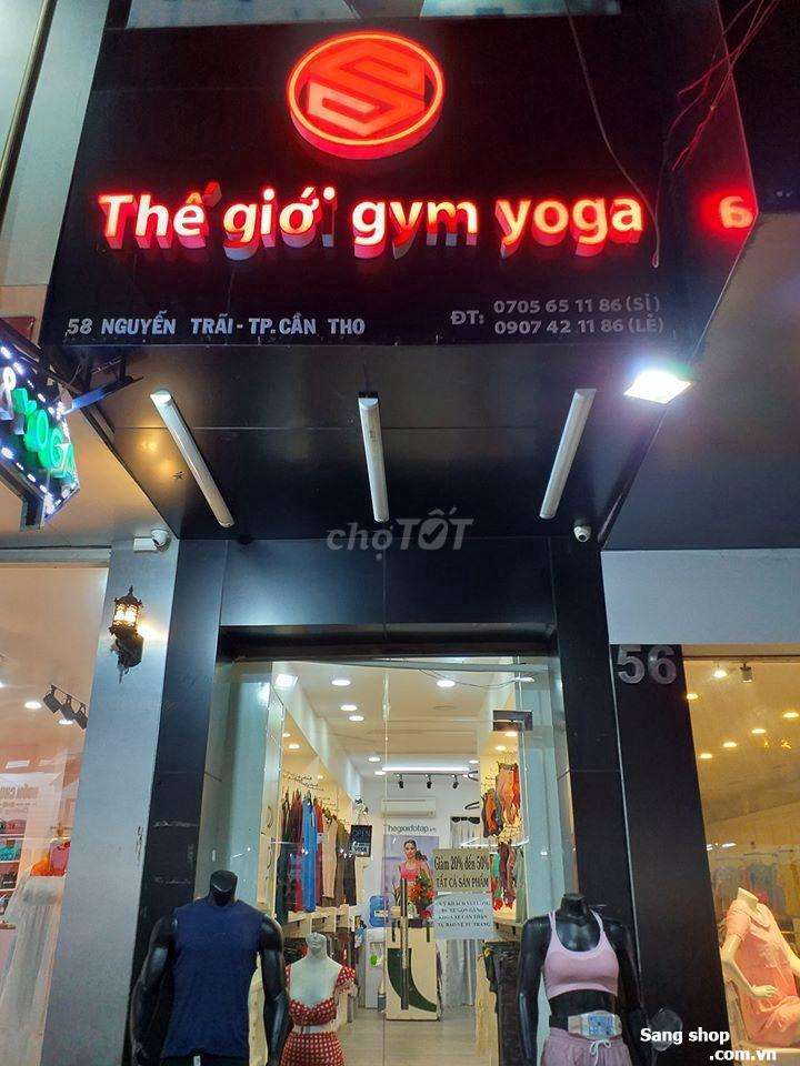 Sang shop thời trang thể thao tại Cần Thơ
