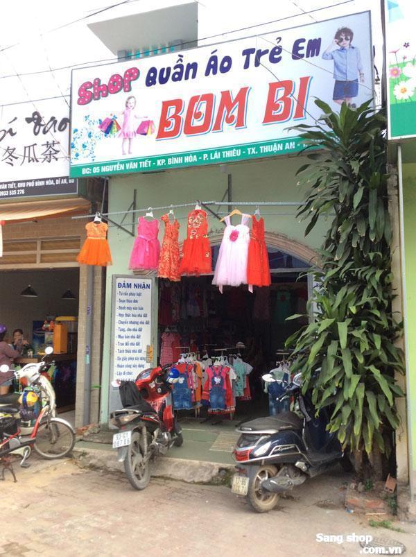 Sang shop thời trang trẻ em đường Nguyễn Văn Tiết