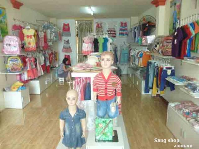Sang shop thời trang trẻ em đường Quang Trung