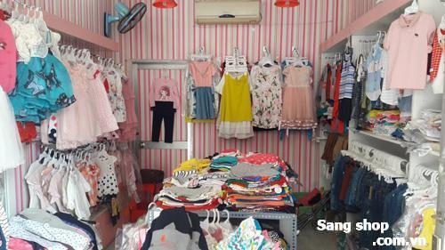 Sang shop thời trang trẻ em mặt tền đường Lê Đức Thọ