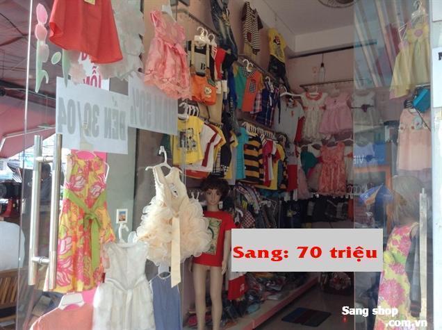 Sang shop thời trang trẻ em, Q.Tân Phú