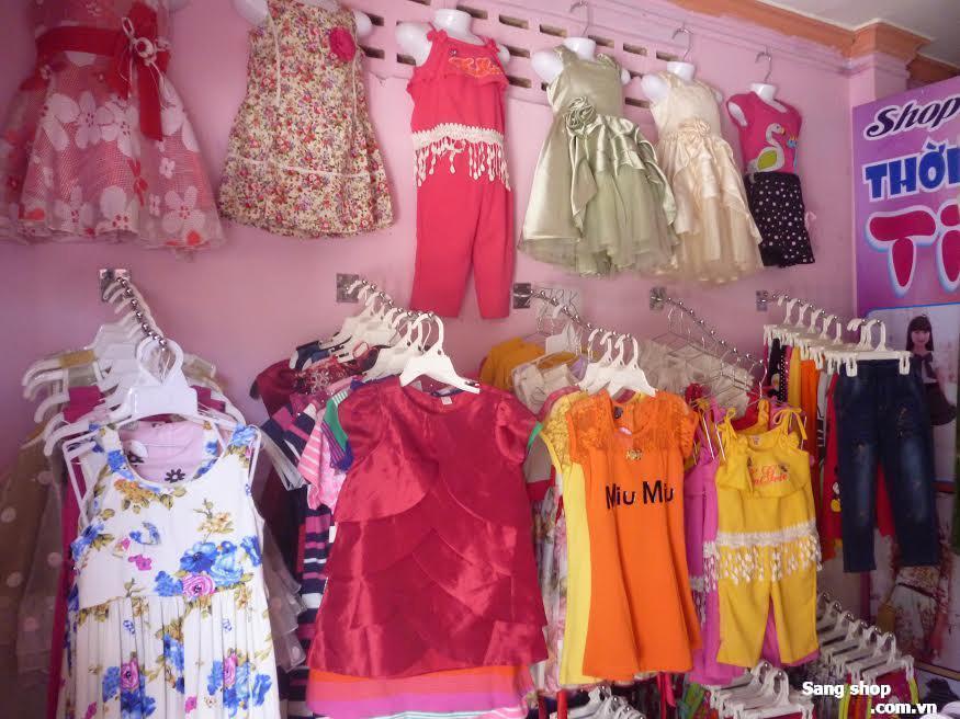 Sang shop thời trang trẻ Em quận 12