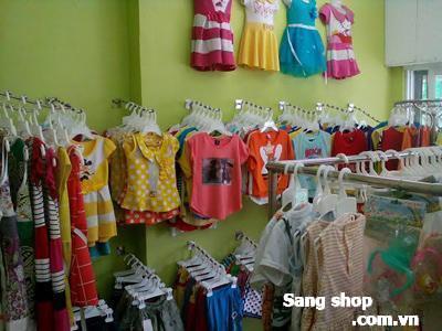Sang shop thời trang trẻ em Quận 9