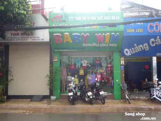 Sang shop thời trang trẻ em quận Tân Phú